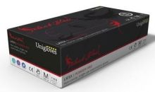 Uniglove Black Powder Free Latex Glove